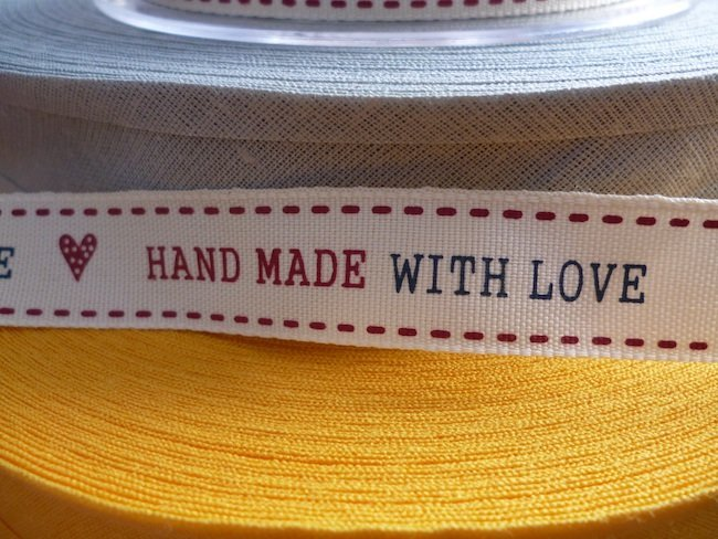 Cute Hand Made With Love